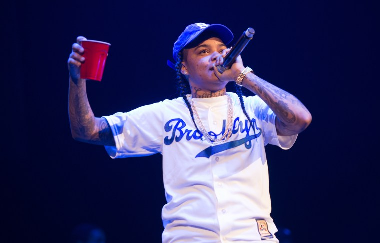 Image: Young M.A. performs in Brooklyn