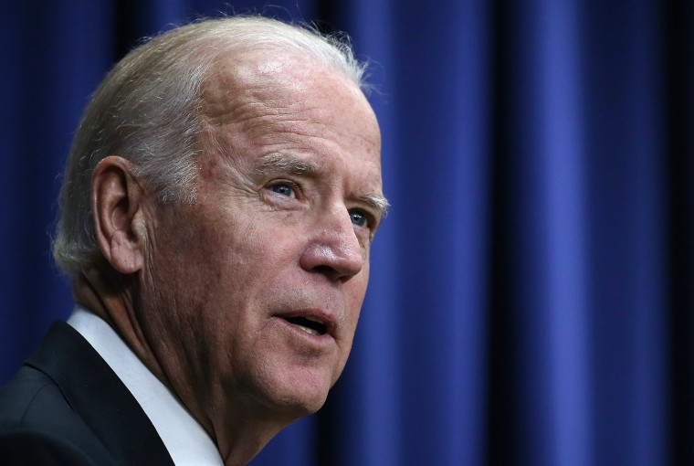 Image: Joe Biden speaks at a White House summit