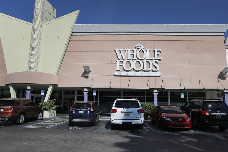 Image: A FILE - JUNE 16, 2017: It was reported that Amazon.com Inc.plans to aquire Whole Foods Market Inc. for about $13.7 billion June 16, 2017. FILE FILE: Amazon To Buy Whole Foods In $13.7 Billion Deal