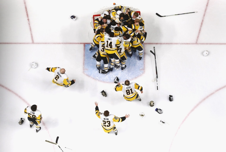 Image: 2017 NHL Stanley Cup Final - Game Six