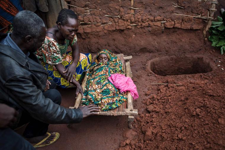 Image: CONGO-HEALTH-MALARIA