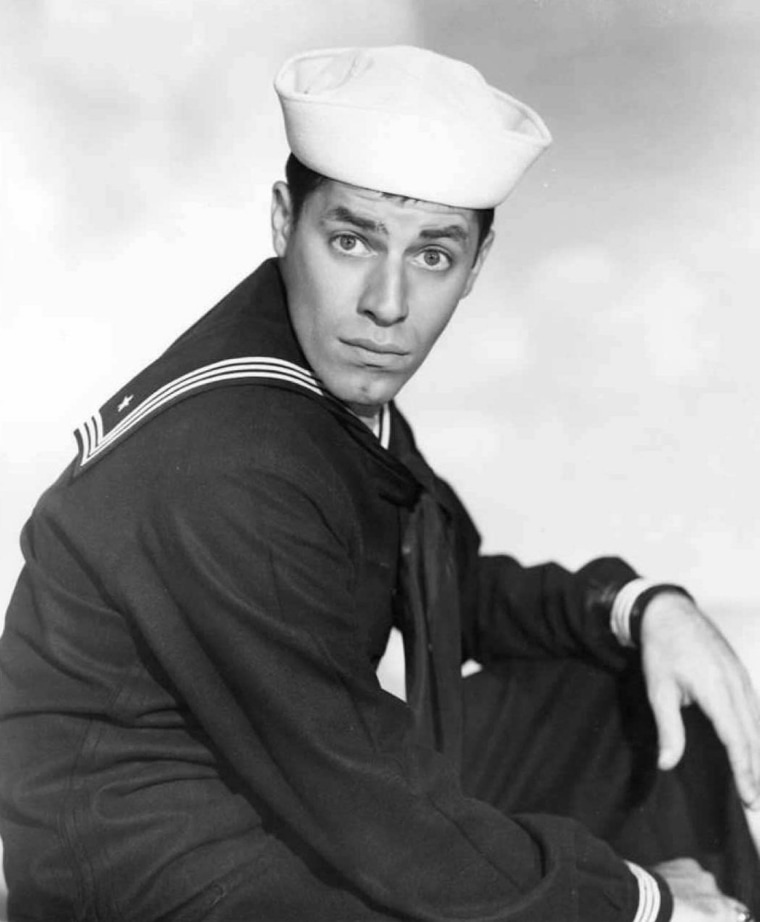 "Image: Jerry Lewis in the movie ""Sailor Beware"""