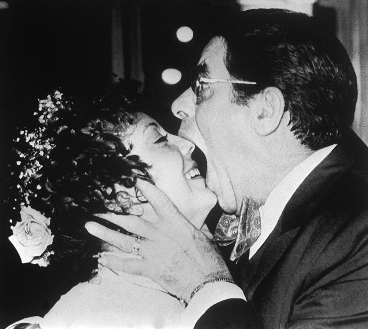 Image: Jerry Lewis and SanDee Pitnick at their wedding
