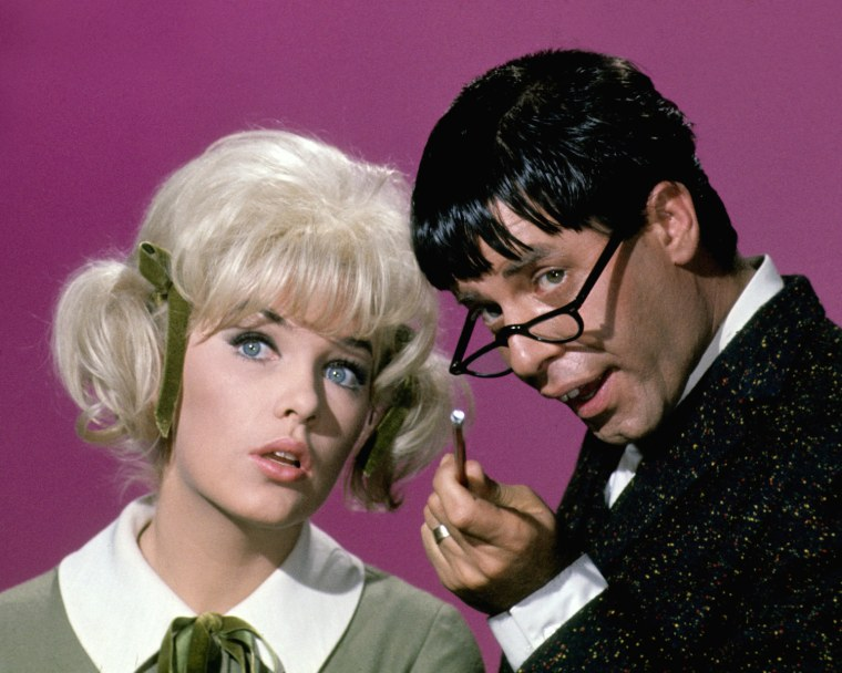Image: Stella Stevens and Jerry Lewis in 'The Nutty Professor'