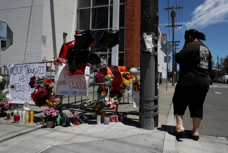 Image: San Francisco Mourns UPS Workers Killed By Co-Worker In Mass Shooting