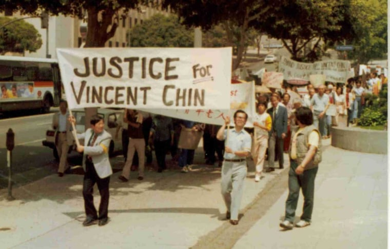 Vincent Chin rally