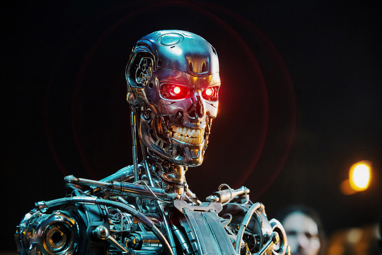 TERMINATOR GENISYS, Series T-800 Robot, 2015. ph: Melinda Sue Gordon/(C)Paramount Pictures/courtesy