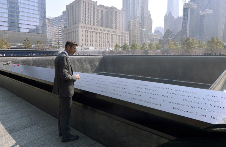 Image: Architect Michael Arad, who designed the 9/11 Memorial, looks over the North Pool during ceremonies for the twelfth anniversary of the terrorist attacks on lower Manhattan at the World Trade Center site on Sept. 11, 2013 in New York City.