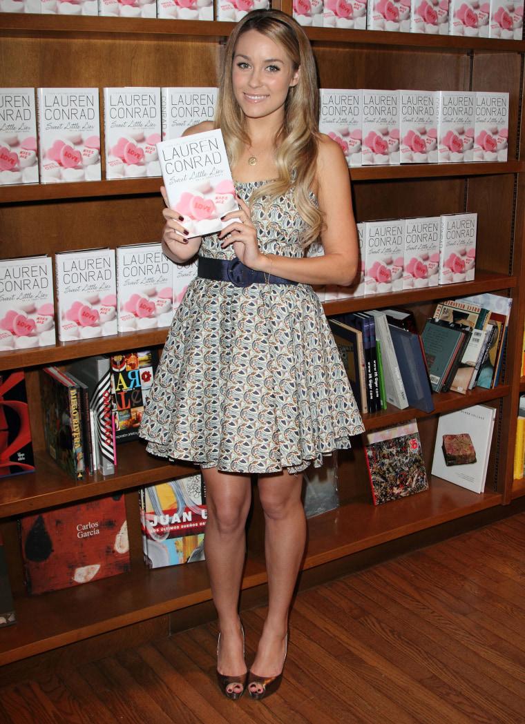 Lauren Conrad Book Signing at Books and Books