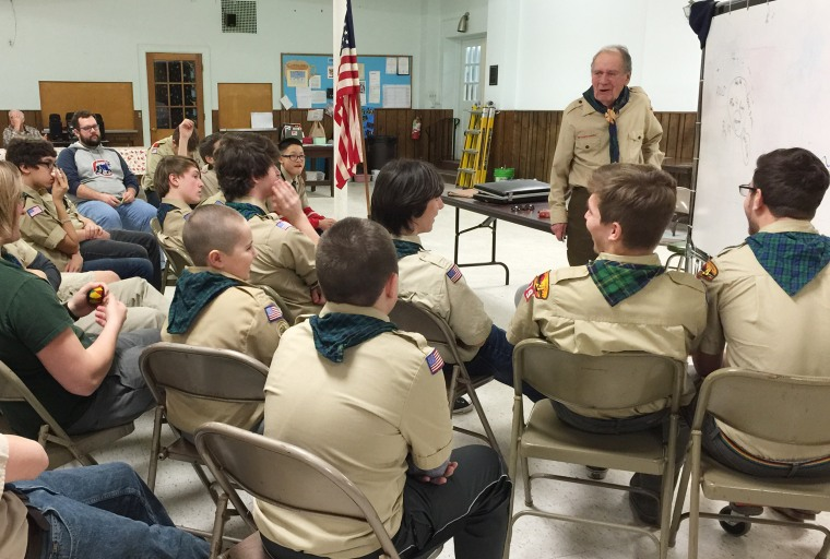 Russ Gremel, who donated $2 million to wildlife, is also a Boy Scout scoutmaster