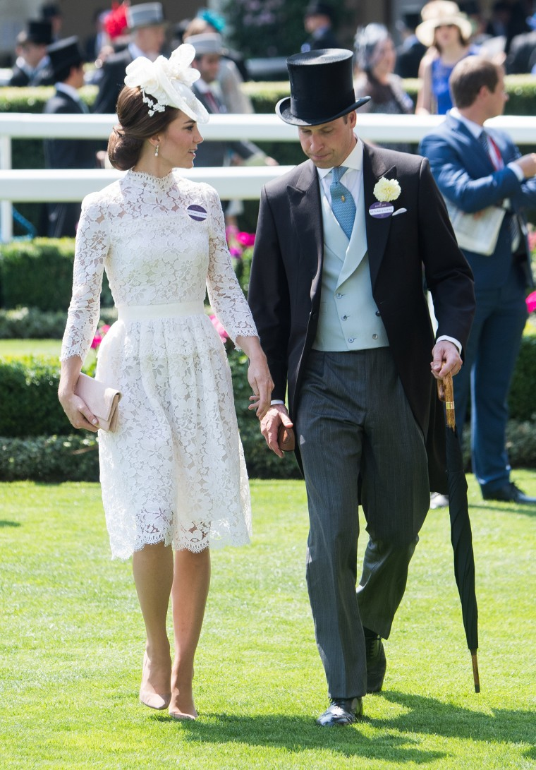 Duke and Duchess of Cambridge, Kate and William, at Royal Ascot 2017