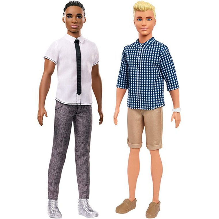 The 15 new Ken dolls are part of the Fashionistas Barbie collection aimed at showing greater diversity.
