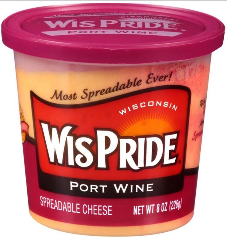 WisPride Port Wine Cheese Spread