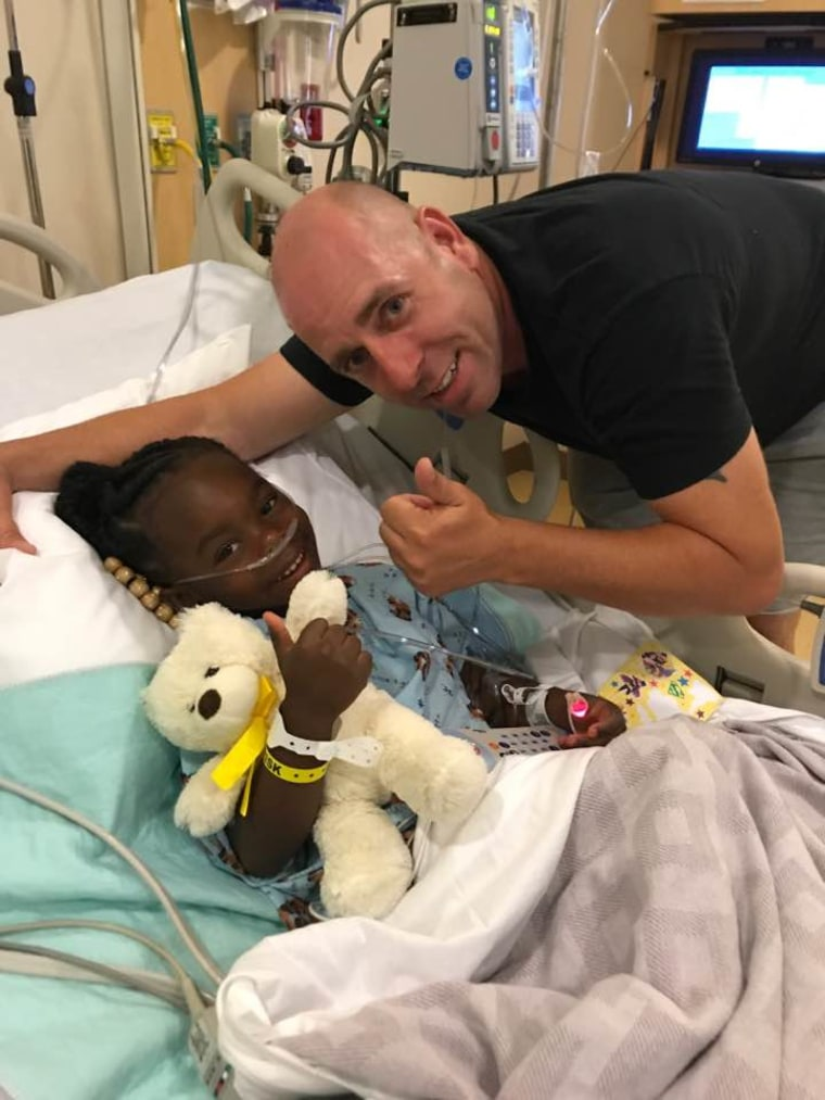 """When I saw that on her, I just thought the worst,"" Haire said of seeing Davie'onna after she was pulled from the pool. He used CPR to revive her."