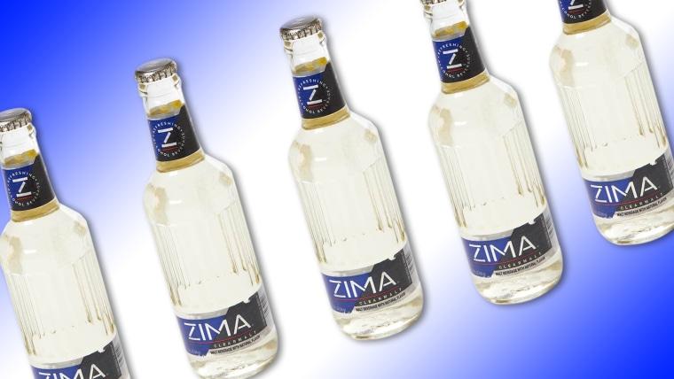 Zomething we enjoyed once but rejected long ago: Zima!