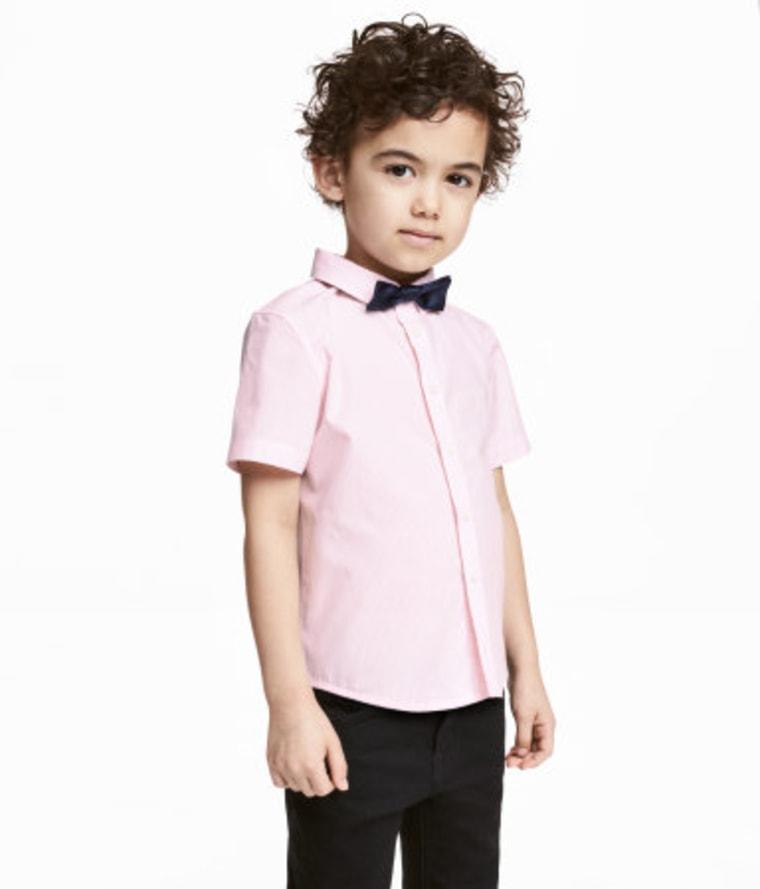 Boy's Pink Shirt