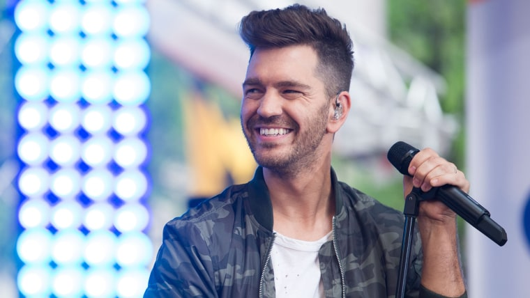 Andy Grammer performing on TODAY