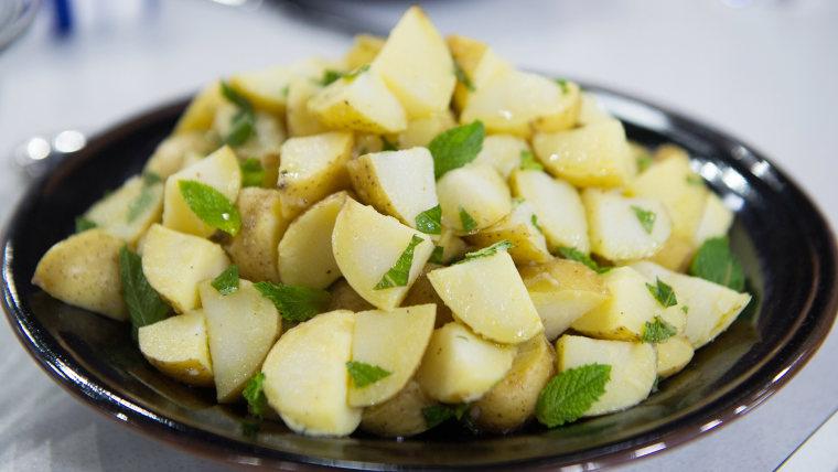 Al Roker's Potato Salad with Lemon and Mint