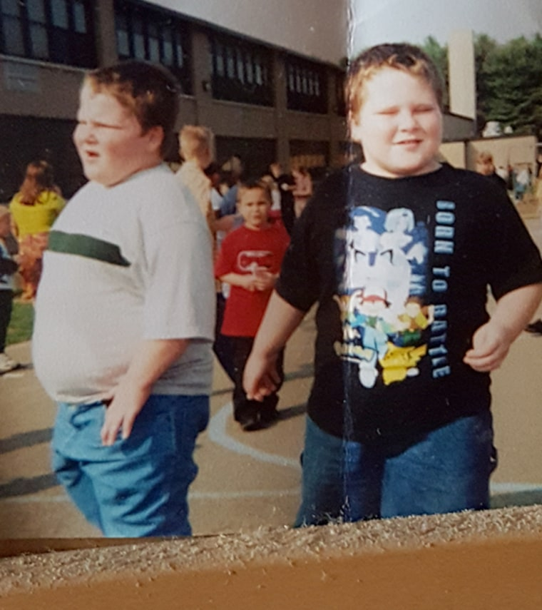 Their entire lives Dillon and Cory were overweight. Finally, their grandmother intervened and urged them to lose weight for their health.