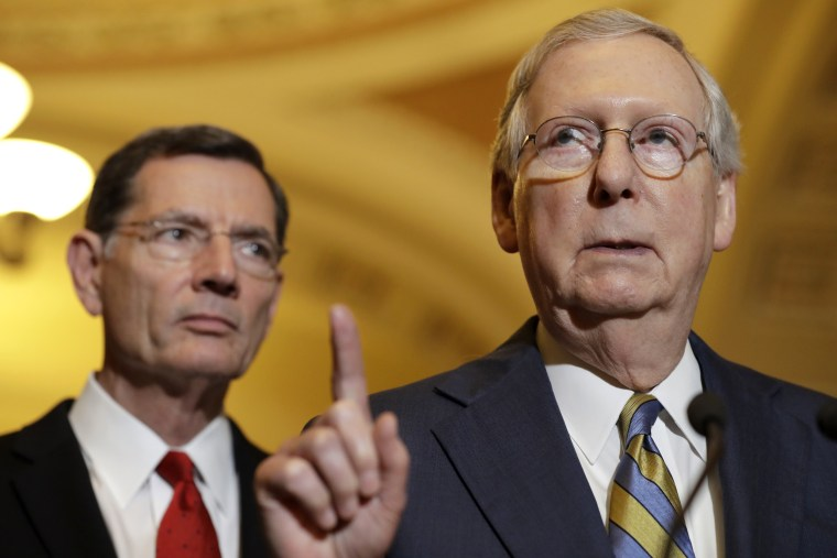 Image: Mitch McConnell, John Barrasso