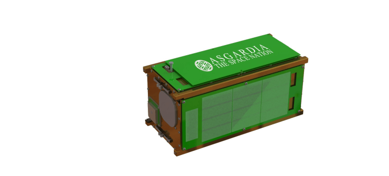 Asgardia's first satellite, Asgardia-1, will launch in September from Orbital ATK's Cygnus spacecraft, which will be bringing supplies to the International Space Station.
