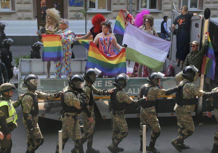 Free gay uniform