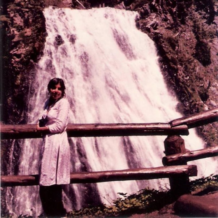 Chitra Divakaruni traveled from Northern California to Mt. Rainer in Washington, in 1984, with her husband.