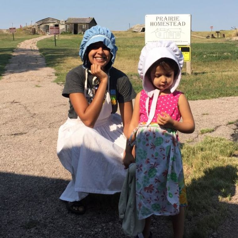 Ragini Tharoor Srinivasan traveled from Chicago to Reno in 2016 with her family.