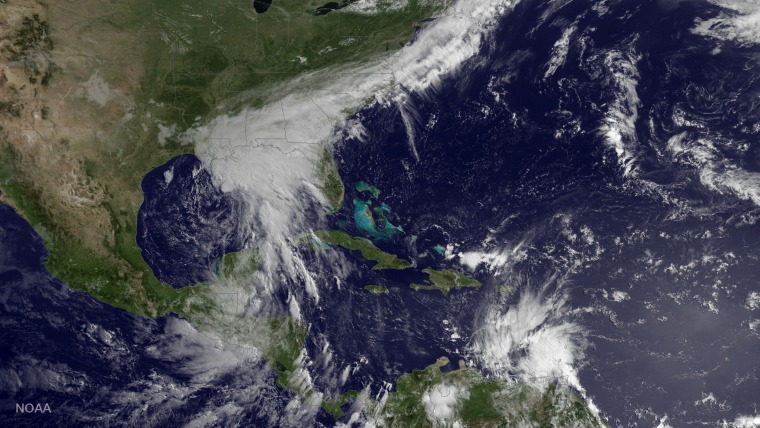 Image:  Tropical Storm Bret and Potential Tropical Cyclone 3