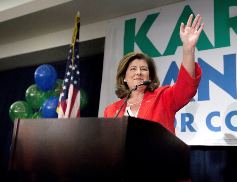 Image: Karen Handel Election Party in Atlanta, Georgia