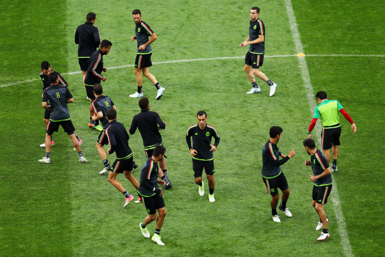 Image: Mexico Training Session & Press Conference - FIFA Confederations Cup Russia 2017