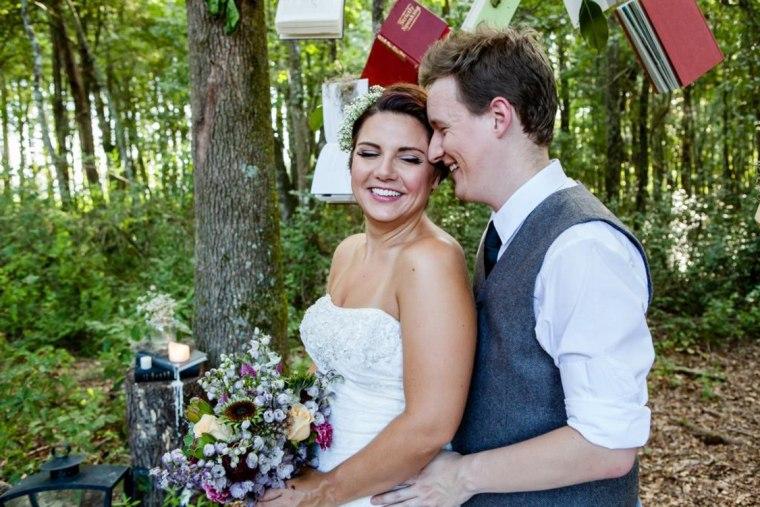 Image: Liz Pardue-Schultz and her husband Greg Schultz