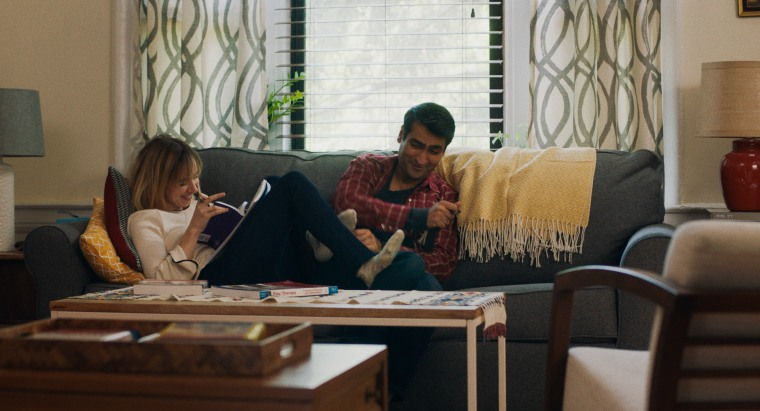"Zoe Kazan portrays Kumail Nanjiani's real-life wife Emily in ""The Big Sick."""