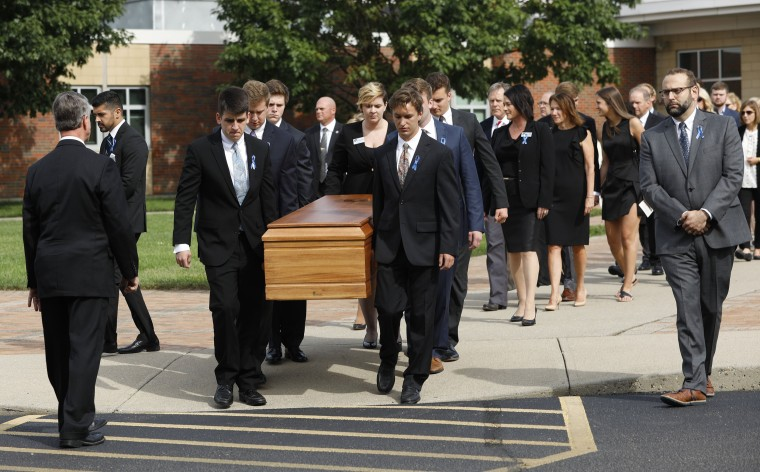 Image: Funeral Held For Otto Warmbier Who Was Detained By N. Korea For Over A Year