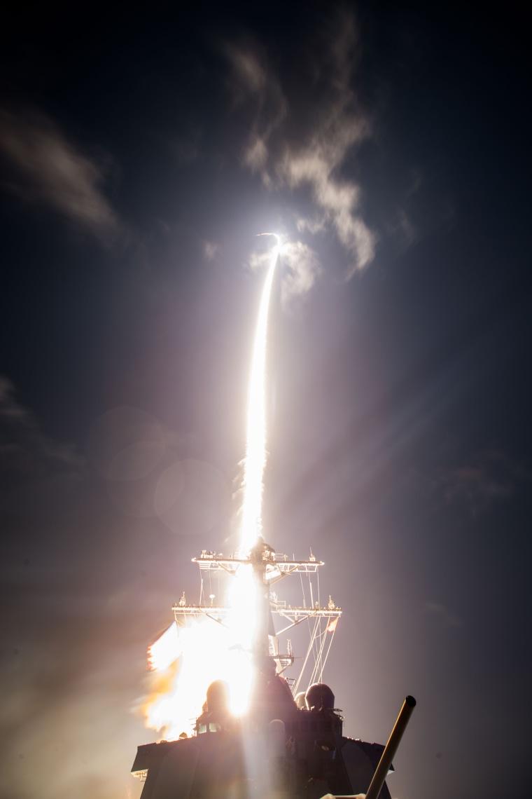 Image: Standard Missile-3 (SM-3) Block IIA flight test