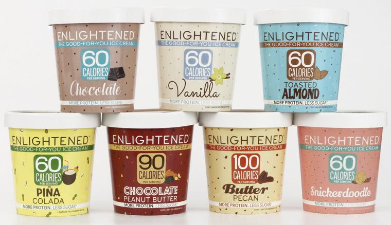 Image: Enlightened ice cream pints