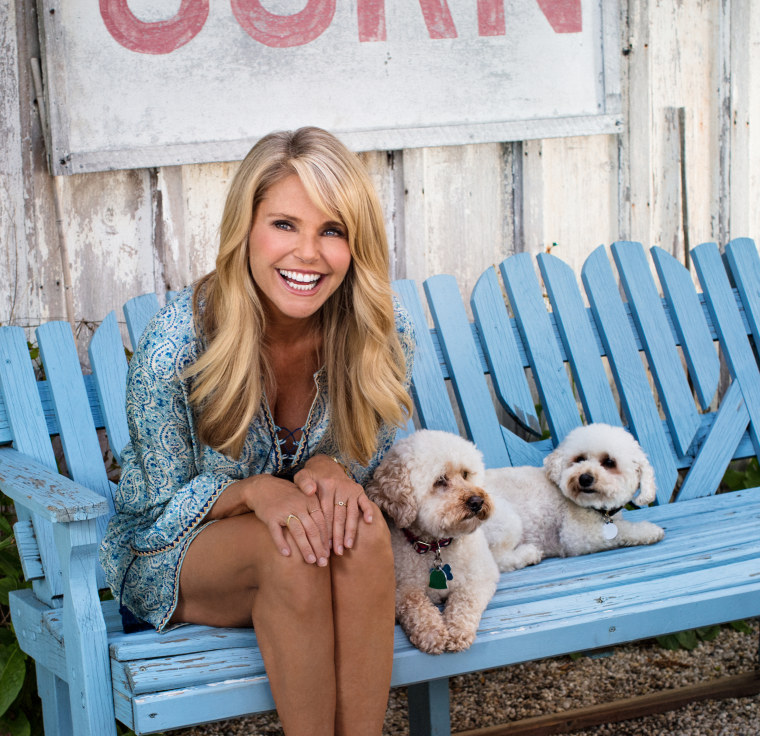 Image: Christie Brinkley