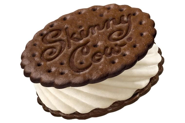 Image: Skinny Cow ice cream sandwich