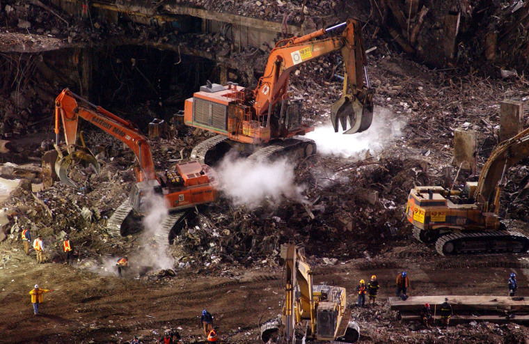 Image: Ground Zero Clean-up Ahead of Schedule