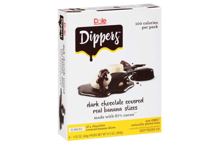 Image: Dole Dippers dark chocolate-covered banana slices