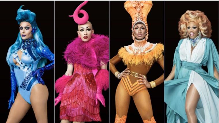 "The finalists of ""RuPaul's Drag Race"" season 9."