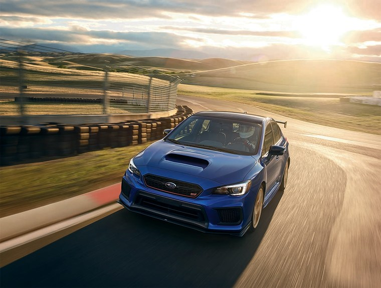 Subaru's WRX STI is the best-selling of the performance hatch models in the U.S.