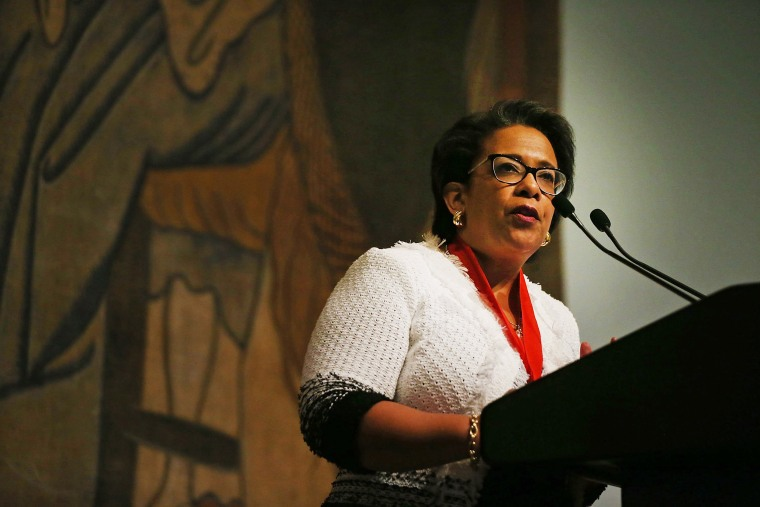 Image: Loretta Lynch Honored At New York Historical Society Luncheon