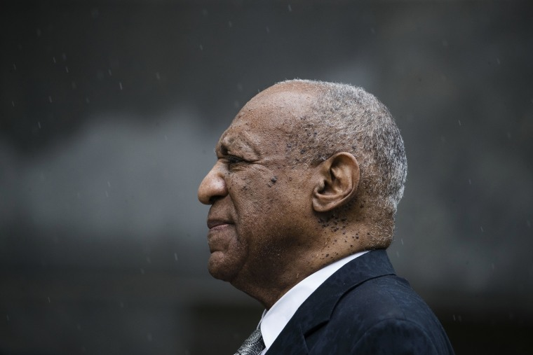 Image: Bill Cosby exits the Montgomery Country Courthouse after a mistrial