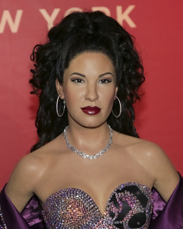 Musical Icon Selena Is Honored With Wax Figure At Madame Tussauds