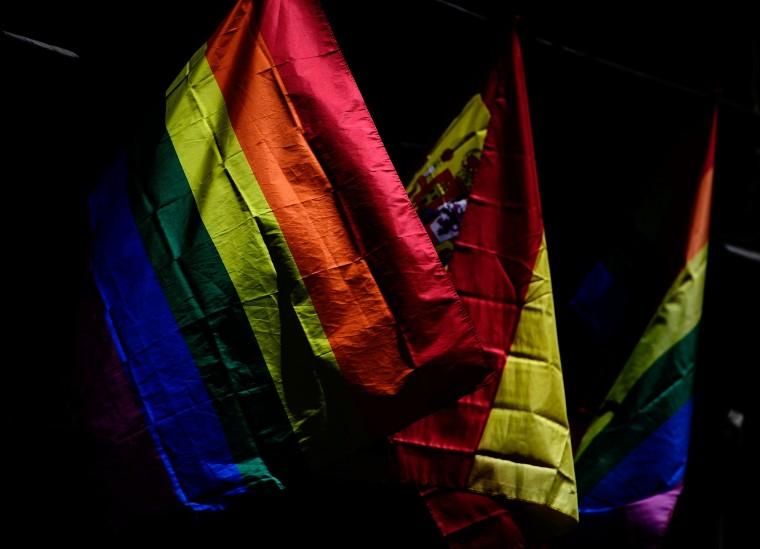 Image: TOPSHOT-SPAIN-WORLD-PRIDE-MADRID