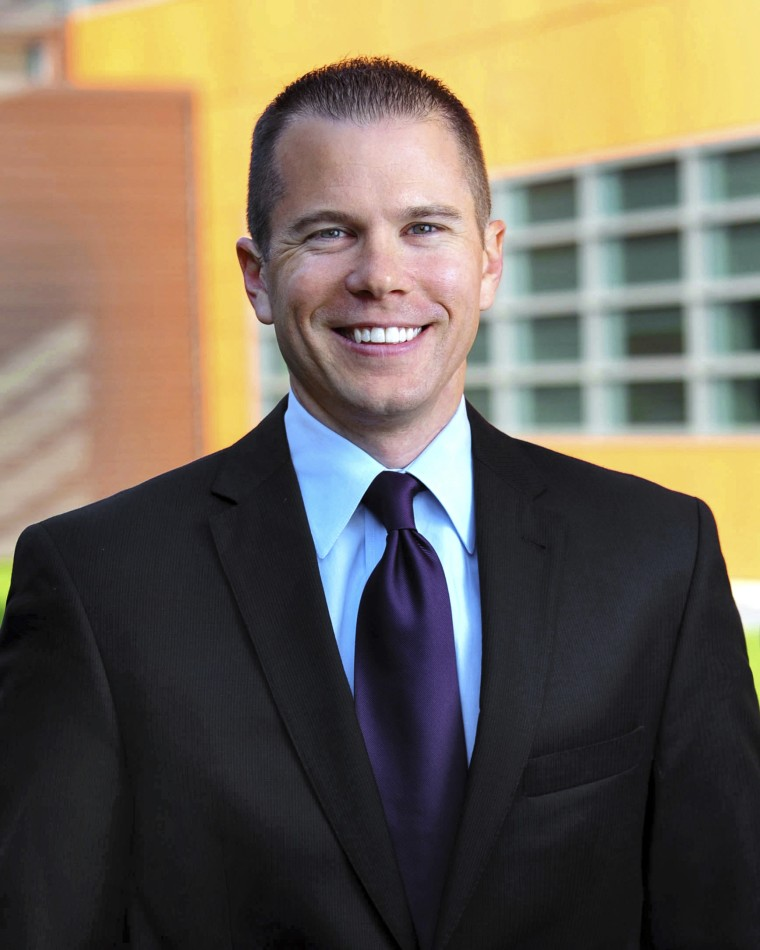 This undated photo released by Tyson Foods company shows Matt Mika.