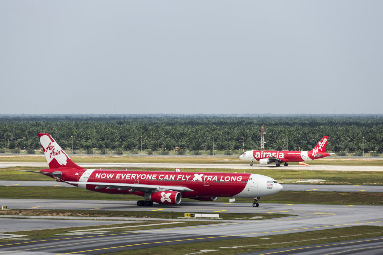 Image: An Air Asia X plane