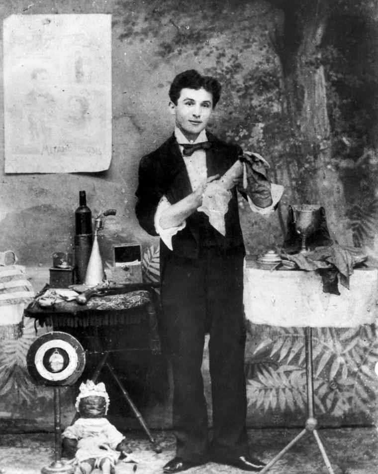 Photograph Of Harry Houdini