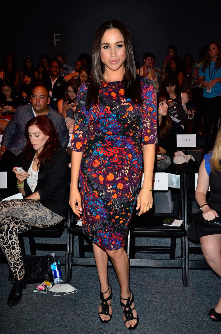 Tracy Reese - Front Row & Backstage - Spring 2014 Mercedes-Benz Fashion Week